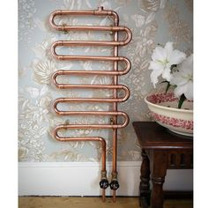 Copper Plumbing Tips And Tricks You Need To Read - Plumbing Tips Decor, Radiators Modern, Plumbing, Copper Diy, Copper Fittings, Home Decor, Radiators, Copper Taps, Bathroom Design