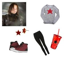 """""""Untitled #1"""" by s-costantini on Polyvore featuring Converse, Sebastian Professional and Betsey Johnson"""