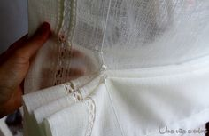 retro-tenda-pacchetto Drapes Curtains, Shabby Chic, Sewing, Scrappy Quilts, Hardanger, Houses, Blinds, Crocheting, Amigurumi