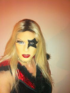 Me at opening night of Rock of Ages. #dragrace #fashion #makeup #gretchen #Gretchenofsweden
