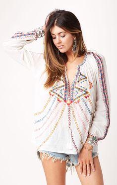 brian blouse // Antik Batik #whatsnew #planetblue