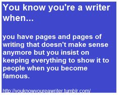 lol, I look at the pages sometimes and wonder what in the world I was talking about :p