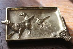 Vintage Virginia Metalcrafters Rare Ashtray by WillODellAntiques