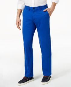 512bcec714e73c Tommy Hilfiger Men Th Flex Stretch Custom-Fit Chino Pant