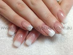 Gel Nails, French Nails, Ombre nails.