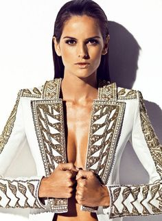 Izabel Goulart by Nico (Harper's Bazaar España april 2012)