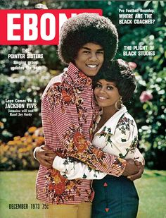 Jermaine Jackson and Hazel Joy Gordy on the cover of Ebony Magazine - December 1973 (Michael's brother and former sister in law) Jermaine Jackson, Jet Magazine, Black Magazine, The Jackson Five, Jackson Family, People Magazine, Ebony Magazine Cover, Magazine Covers, Dona Summer