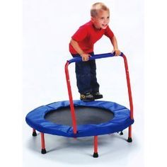 Original Toy Company Safe Bounce Trampoline:Amazon:Sports & Outdoors