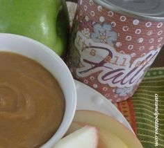 Fall printables and Carmel dip for apples cooked in the can - GENIUS from Caramel Potatoes!