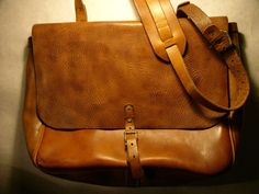 leather postman bag   janel polendo via etsy Postman Bag 3ea44993a7d01