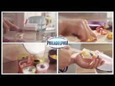 Philadelphia - Paletas de queso y fruta