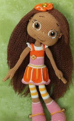 Pretty Orange doll