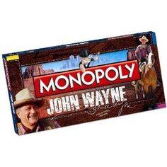 NEW NEW Monopoly John Wayne