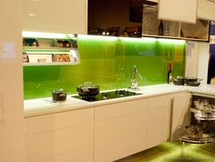 Glass Kitchen Backsplash Tablecloths 596 Best Ideas Images In 2019 Decor Kitchens Of The Day Modern Creamy White Cabinets With A Solid Green Back Ideasglass