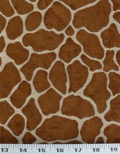 Giraffe Brown / Natural | Online Discount Drapery Fabrics and Upholstery Fabric Superstore!