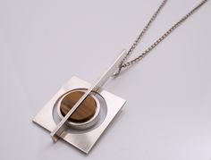 Scandinavian Silver Pendant