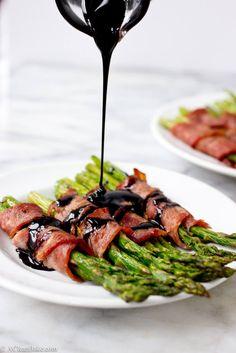 Paleo Bacon Wrapped Asparagus Recipe