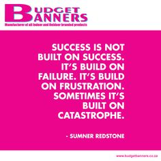 Budget Banners Like This Page · January 21 · Don't let your failures keep you down. Success wouldn't be a success without some trial and error along the way, without needing to get up after a hard fall.