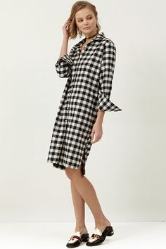 [Storets, Shelly Gingham Check Dress]