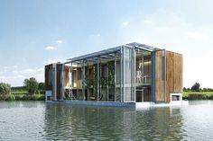 Sustainable Floating House