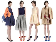carven resort 2012.. i kind of want those shoes