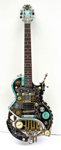 Steampunk Les Paul Guitar