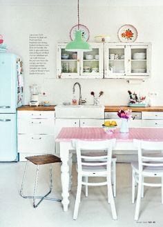 Cottage kitchen ** 101 Woonideeen **