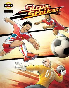 A comic book about soccer. Want it!!