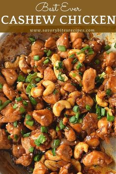 You will love this Cashew Chicken recipe. Very easy to put together just need to try out and you can make lettuce wraps,rolls,sandwich out of this cashew chicken.Enjoy this along with rice or noodles of your choice. chicken recipes So good Cashew Chicken! Chicken Cashew Stir Fry, Skillet Chicken, Chicken With Cashews, Cashew Chicken Recipe Easy, Slow Cooker Cashew Chicken, Almond Chicken, Easy Chinese Recipes, Chinese Food Recipes Chicken, Chicken