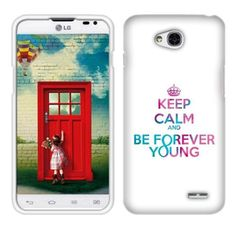 Fincibo (TM) LG Optimus L70 D321 Exceed 2 VS450 Protector Cover Case Snap On Hard Plastic - Keep Calm Be Forever Young, Front And Back Fincibo http://www.amazon.com/dp/B00NIJ48TY/ref=cm_sw_r_pi_dp_Fu66ub0Y23976