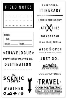 stamps-travelogue