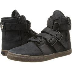 """RADII > """"Straight Jacket Vlc"""" High Top Sneakers, Black Gum"""