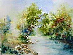 Chemin au bord de l'eau
