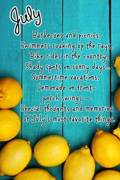 """July Poem"" 