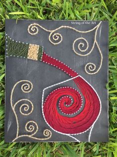 cool String Art DIY Crafts Kit. Save 10% off the purchase price of this Red Wine Stri... by http://www.danahomedecor.top/diy-crafts-home/string-art-diy-crafts-kit-save-10-off-the-purchase-price-of-this-red-wine-stri/