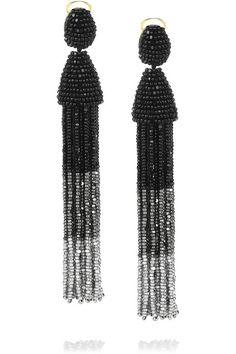 Best gift ever... Oscar de la Renta earrings <3