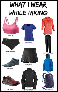 What should you wear for hiking? Here's a complete list of clothing items I wear that are perfect for day hikes and hiking with kids. Cute Hiking Outfit, Hiking Wear, Summer Hiking Outfit, Hiking Shoes, Summer Outfits, Camping Outfits, Hiking Outfits, Sport Outfits, New Mexico