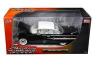 1960 Chevrolet Impala Black Showroom Floor 1/24 Diecast Car Model By Jada 98901