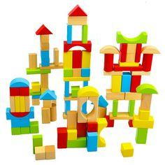 Juego de construcción con figuras geométricas