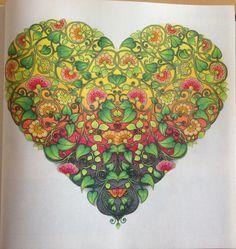 Jardin Secret Johanna Basford Inspiration