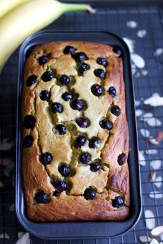 Almond Flour Blueberry Banana Bread is a gluten-free, lower carb version of one of my favorite quick breads. Almond Flour Blueberry Banana Bread is a gluten-free, lower carb version of one of my favorite quick breads. Banana Bread Almond Flour, Blueberry Banana Bread, Baking With Almond Flour, Gluten Free Blueberry, Gluten Free Banana Bread, Almond Flour Recipes, Best Banana Bread, Keto Bread, Almond Butter