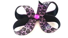 Hey, I found this really awesome Etsy listing at https://www.etsy.com/listing/198574201/boutique-hair-bow-no-slip-grip-hair
