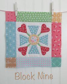 Bee In My Bonnet: BLOOM Sew Along - Week Nine - Block Nine!!