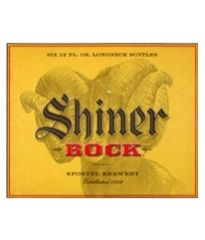 Product - Shiner Bock