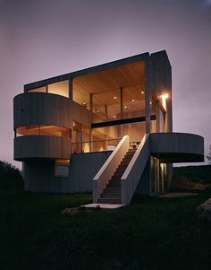 Cooper Residence 1968 - A project by Gwathmey Siegel