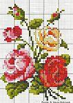 Мобильный LiveInternet Розы - 12 схем для вышивания крестом | MerlettKA - © MerlettKA® ™ |
