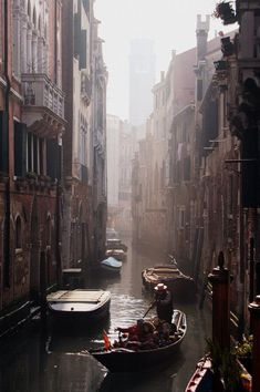 "The most beautiful ""streets"" on the world you can find only in Venice."
