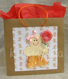 Lovely handcrafted paper gift bag