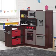 Guidecraft Master Chef Corner Play Kitchen | from hayneedle.com