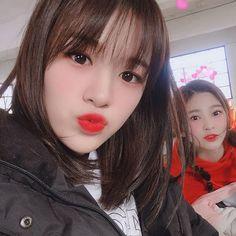 iz*one: ahn yu jin & kim min joo Kpop Girl Groups, Kpop Girls, Yu Jin, Japanese Girl Group, Kim Min, Nanami, Extended Play, 3 In One, The Wiz